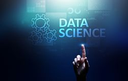 Data science and deep learning. Artificial intelligence, Analysis. Internet and modern technology concept. Data science and deep learning. Artificial royalty free stock photography