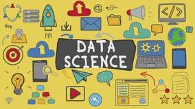 Data Science, Graphic Concept Illustration
