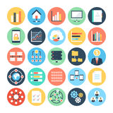Data Science Vector Icons 4 Royalty Free Stock Photos
