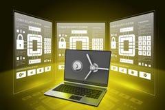 Data security concept Royalty Free Stock Photos