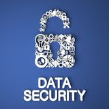 Data Security Concept. Royalty Free Stock Image