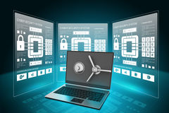 Data security concept Royalty Free Stock Images