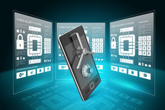Data security concept Stock Photography