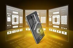 Data security concept Stock Photo