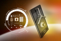 Data security concept Stock Image