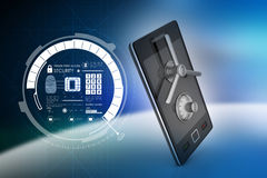 Data security concept Stock Photos