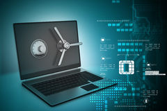 Data security concept Stock Photos