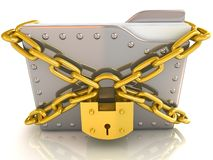 Data security concept. Royalty Free Stock Photo