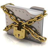 Data security concept. Stock Photography