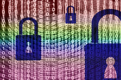 Data Security Design Royalty Free Stock Images