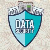 Data security design Stock Photography