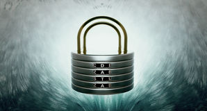 Data security disks Royalty Free Stock Photo