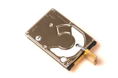 Data security: Hard disk with padlock Stock Photo