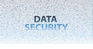 DATA SECURITY information technology issues Stock Image