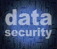 Data Security Means Secure Facts And Bytes Royalty Free Stock Photography