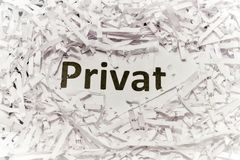 Data security - privacy protection Stock Photography