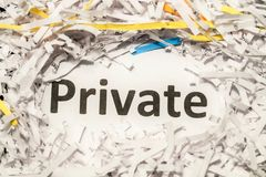 Data security - privacy protection Stock Images