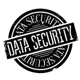 Data Security rubber stamp Stock Image