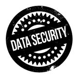 Data Security rubber stamp. Grunge design with dust scratches. Effects can be easily removed for a clean, crisp look. Color is easily changed Stock Photo