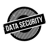 Data Security rubber stamp Stock Photos
