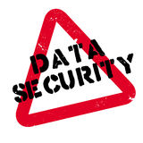 Data Security rubber stamp Royalty Free Stock Photography