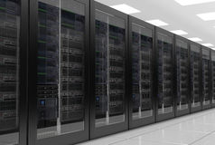 Data Servers or data center Royalty Free Stock Images