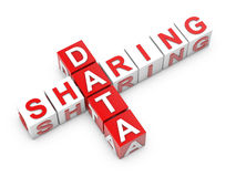 Data Sharing Stock Photo
