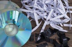 Data shredding Royalty Free Stock Image
