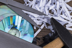 Data shredding Stock Photos