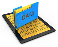 Data storage Royalty Free Stock Photography