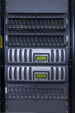 Data storage appliance. In rack Royalty Free Stock Photography