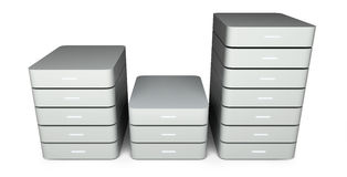 Data storage concept Stock Images
