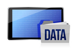 Data storage concept Stock Photos