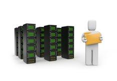 Data storage concept Stock Photos