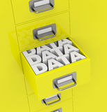 Data storage Royalty Free Stock Image