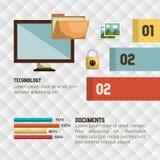 data storage design Royalty Free Stock Image