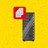 Data storage design Royalty Free Stock Images