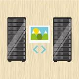 data storage design Stock Photos