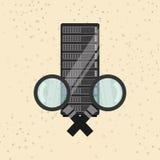 Data storage design. Illustration eps10 graphic Stock Photo