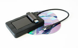 Data storage device Stock Photos