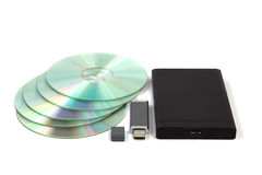 Data storage device Royalty Free Stock Images