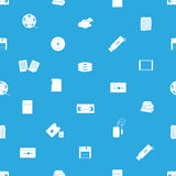 Data storage media blue pattern eps10 Stock Photo