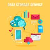 Data Storage Service Banner Royalty Free Stock Photos
