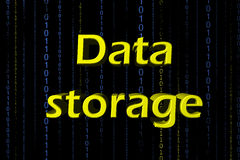 Data Storage Stock Photo
