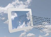 Data stream - internet, web computing communication concept Royalty Free Stock Photography