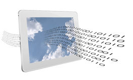 Data stream - internet, web computing communication concept Stock Images