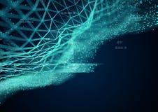 Data Stream Visualization royalty free illustration