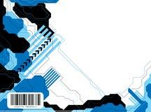 Data tech v2 Stock Image