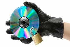 Data Theft Royalty Free Stock Photography