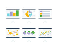 Data Tools Finance Diagramm and Graphic. Data tools finance diagram and graphic. Data and tool, chart and graphic, business data tool Royalty Free Stock Photos